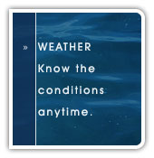 Weather .:. Know the conditions anytime.